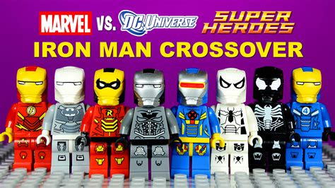 Set 3in1 Batman Vs Spider lego iron dc vs marvel crossover armory knockoff minifigures batman spider set 1