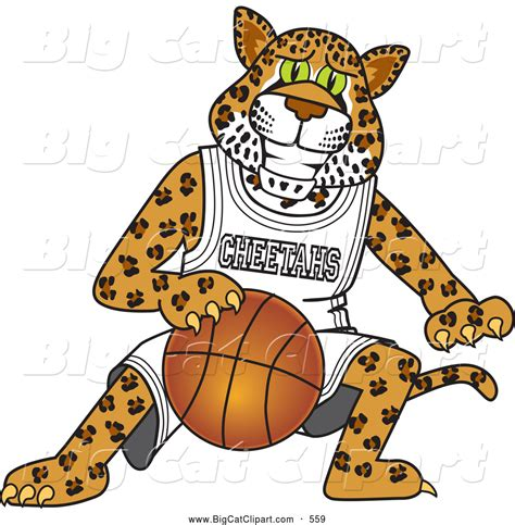 mascot clipart royalty free basketball stock big cat designs