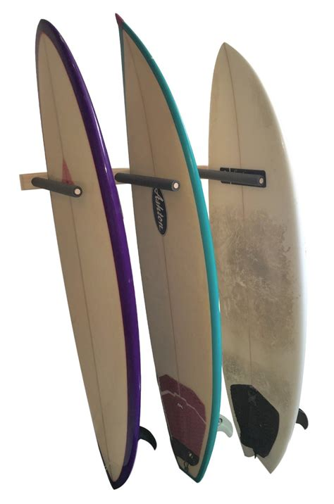 clearance vertical surfboard wall rack 3 6 or 9 wood