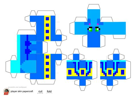 Minecraft Skin Papercraft - paper crafts minecraft skins