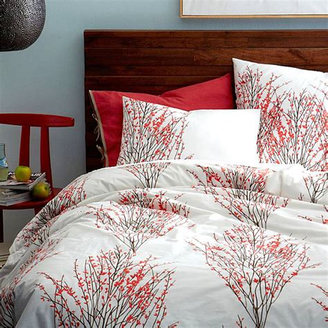 red accents in bedroom relaxing bedroom colors for your interior