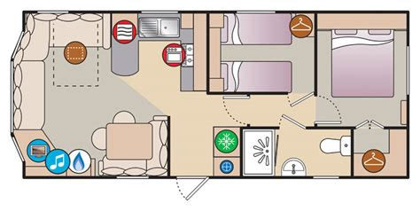 caravan floor plan layouts newquay caravan holidays cornwall holiday park porth beach