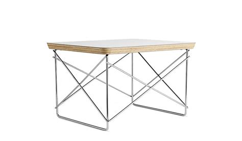herman miller eames wire base low table white design
