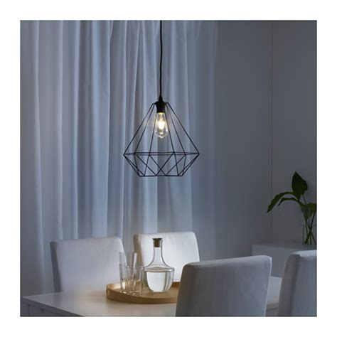 Ikea Pendant Light Shades Brunsta Pendant L Shade Black 35 Cm Ikea