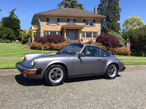Porsche 911 Seattle by 1985 Porsche 911 Sunroof Coupe Seattle Pelican Parts