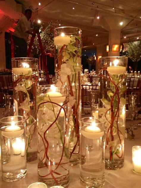 Wedding Season Supplies Wedding Ideas Candle The Roses Pillar centerpiece idea simple and country elegance my wedding flower