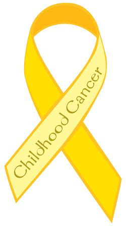 childhood cancer awareness color september is childhood awareness cancer month of