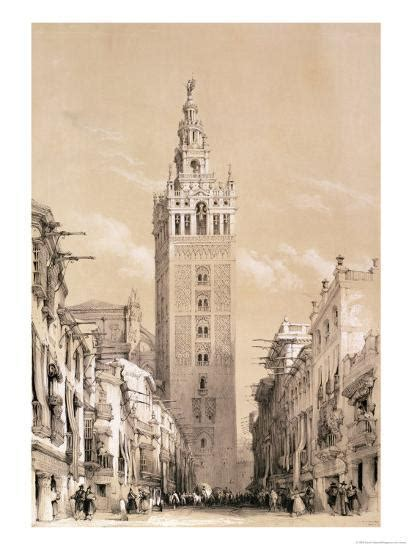 Sketches In Spain by The Giralda Seville From Picturesque Sketches In Spain