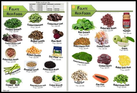 best sources of folic acid folate food sources at least 2 servings of these