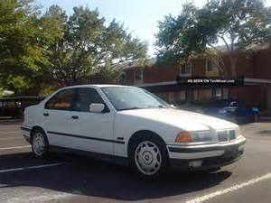 1995 Bmw 318i 1995 Bmw 318i Base Sedan 4 Door 1 8l