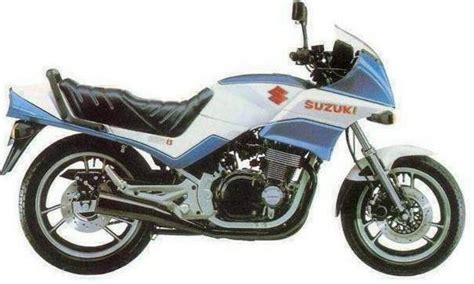 Suzuki A 1985 Suzuki Gsx 550 Ef Moto Zombdrive