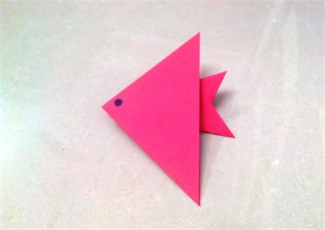 Paper Folding For Free - free coloring pages how to make an origami paper fish 1