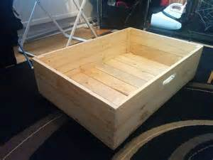 Underbed Drawers Wood by Wooden Bed Storage On Wheels