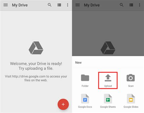 drive google upload how to backup files from android to google drive