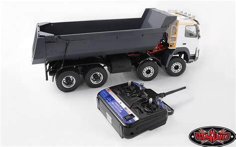 rc volvo dump truck for sale rc4wd rtr 1 14 8x8 armageddon hydraulic dump truck rc