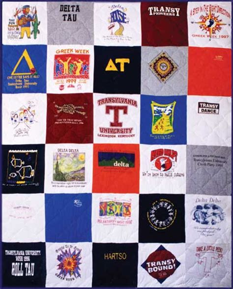 A Quilt Out Of T Shirts by T Shirt Quilt Order Page