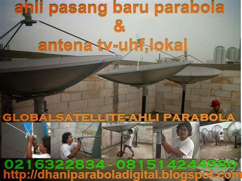 parabola digital ahli pasang baru antena tv pondok indah kebayoran lama