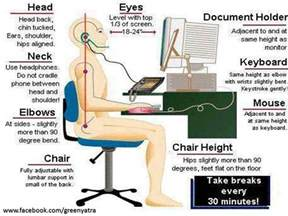 best posture at your desk stand up straight pinterest