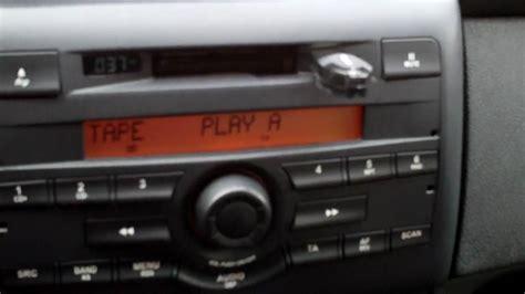 fiat stilo radio mp3 player in fiat stilo visteon radio