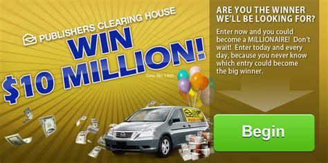 Win 10 Million Pch - publishers clearing house million dollars a year for life winner