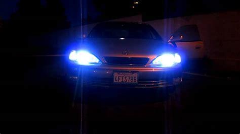 one of my hid lights wont turn on 99 lexus es300 hid kit 35w high intensity led fog led