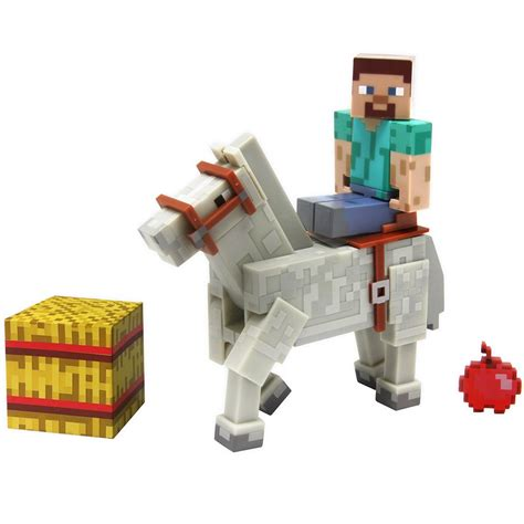 minecraft figures minecraft steve and 3 quot figure series 2