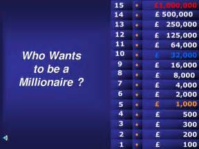 Who Wants To Be A Millionaire Children S Rights By Millionaire Powerpoint Template With Sound