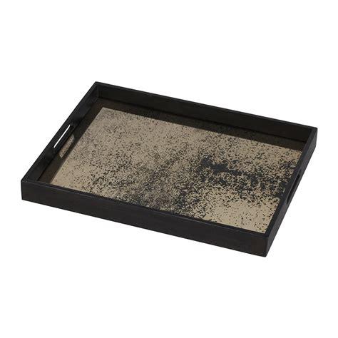 Mirror Tray buy notre monde heavy aged bronze mirror tray rectangular small amara