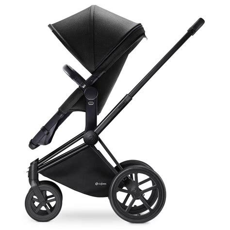 cybex car seat stroller frame cybex priam matt black frame with 2 in 1 seat