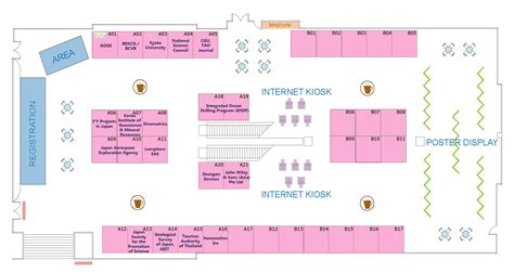 layout of exhibition hall aogs 2007 4th annual meeting bangkok