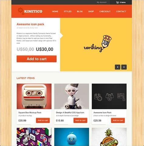 themes wordpress responsive ecommerce best 35 e commerce wordpress theme of 2012 updated