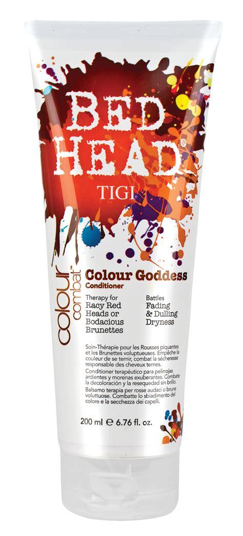 bed head colour goddess tigi bed head colour combat colour goddess conditioner