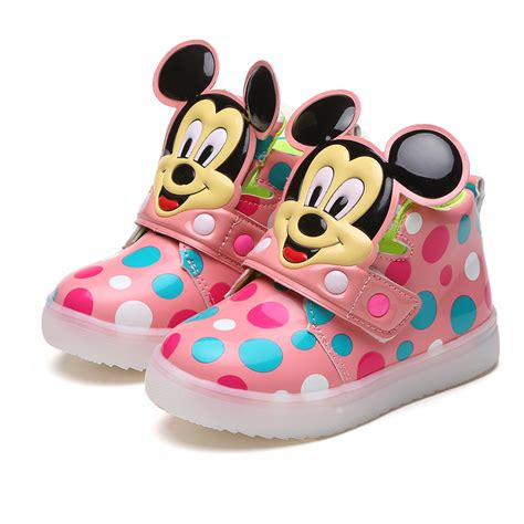 Boots Fashion Miki Led Sz 26 30 Best Seller Children Shoes With Light Growing Shoes