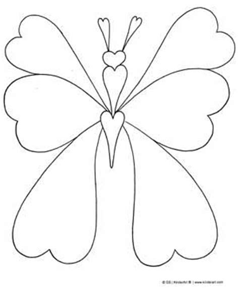 heart butterfly coloring page free valentine coloring pictures to print off bug