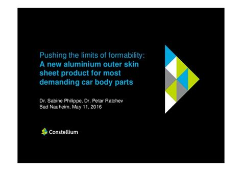 car pushing the limits pushing the limits of formability a new aluminium outer