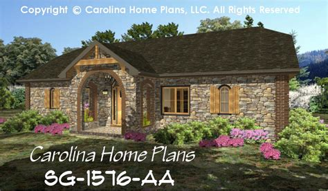 baby nursery one story stone house plans one story stone small stone cottage house plan chp sg 1576 aa sq ft
