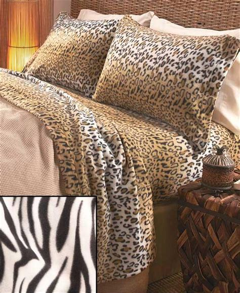 leopard print bed set cozy soft fleece animal print leopard zebra giraffe print