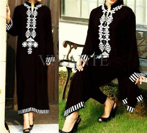 design dress black and white pakistani black and white dress designs for girls