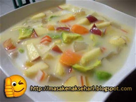 resep membuat sop buah enak resep cara membuat sop buah segar ala teh ine