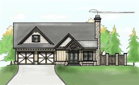 small house floor plans with porches small single story house plan fireside cottage