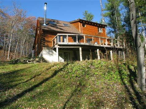 Luxury Secluded Cottages by Catskill Luxury Log Cabin On 12 Secluded Vrbo