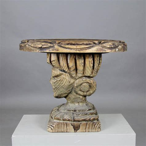 unique side tables unique sculptural side table at 1stdibs