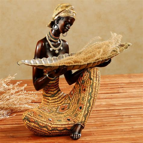 decorative statues for home how to create african safari home d 233 cor home interior design
