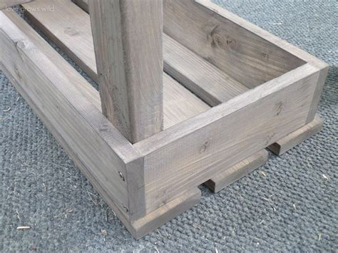 simple garden bench easy diy outdoor bench love grows wild diy pinterest