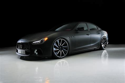 2017 Wald Maserati Quattroporte Black Bison Car Photos