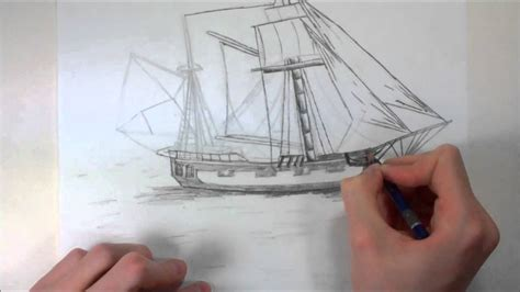 how to draw a refugee boat pusedo realistic pirate ship drawing youtube