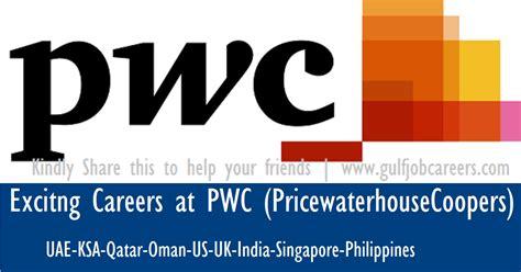 Pwc India Mba Internship by Exciting Careers At Pwc Uae Ksa Qatar Oman Us Uk India