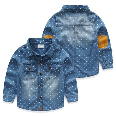 baby denim shirt aliexpress buy baby boys denim shirts