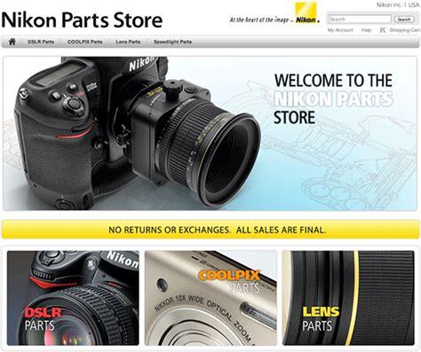 you now buy nikon parts nikon rumors