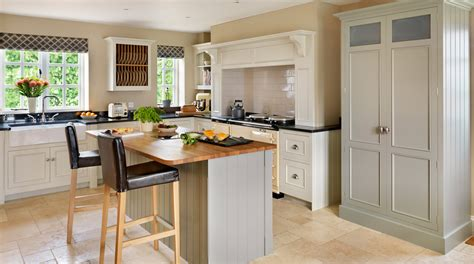 original modern farmhouse kitchen from harvey jones